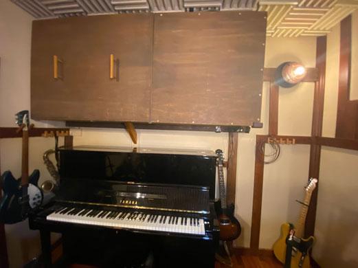 ピアノ&エアコン消音
