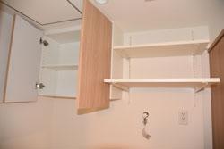 トイレの収納部